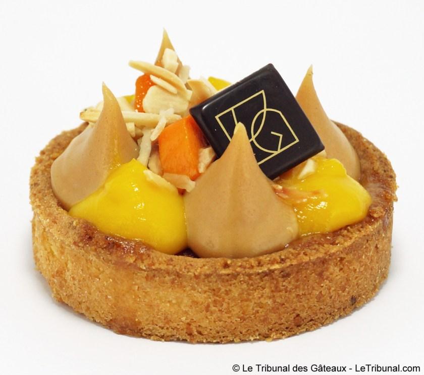 vg pâtisserie tarte mangue
