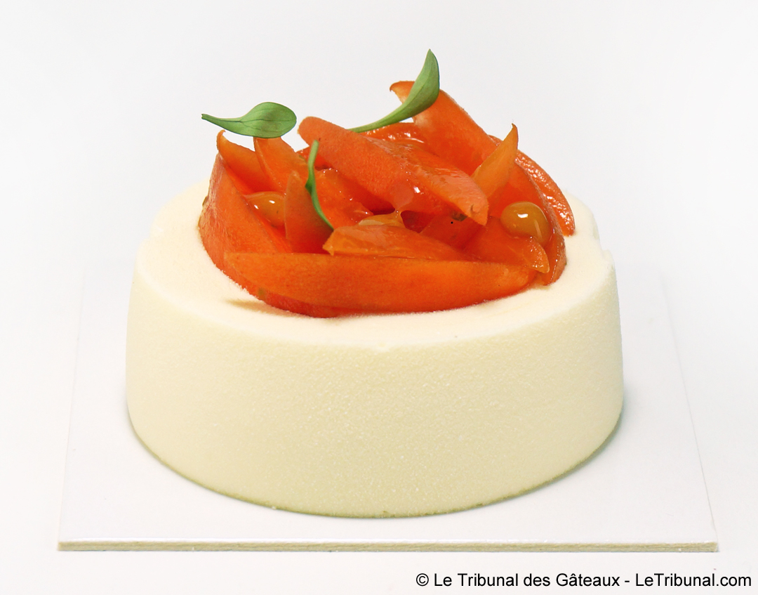 Cheesecake aux Abricots par Yann Couvreur