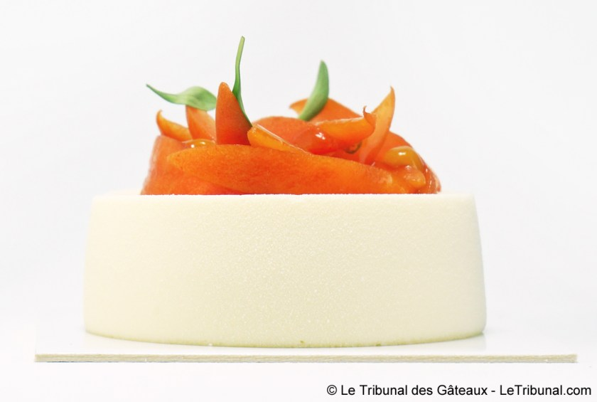 cheesecake aux abricots yann couvreur