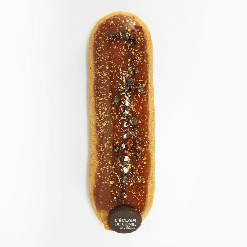 éclair de génie caramel au beurre salé