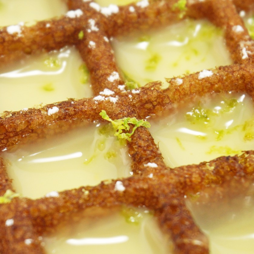 gaufre citron yummy guiltfree