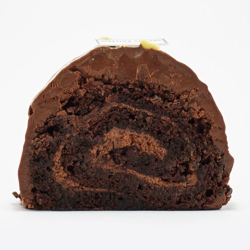 bûche au chocolat Sébastien gaudard
