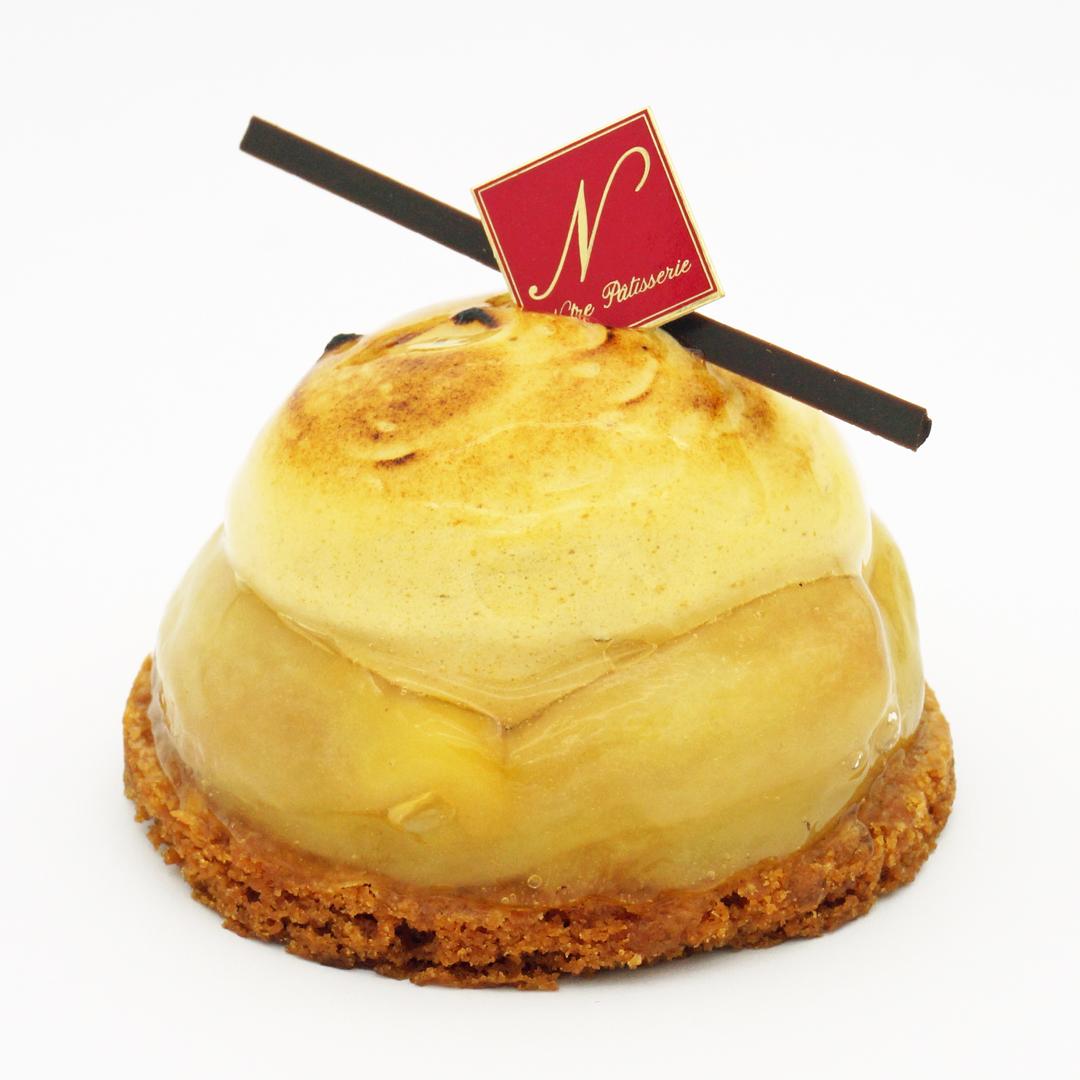 tarte poires caramel notre pâtisserie