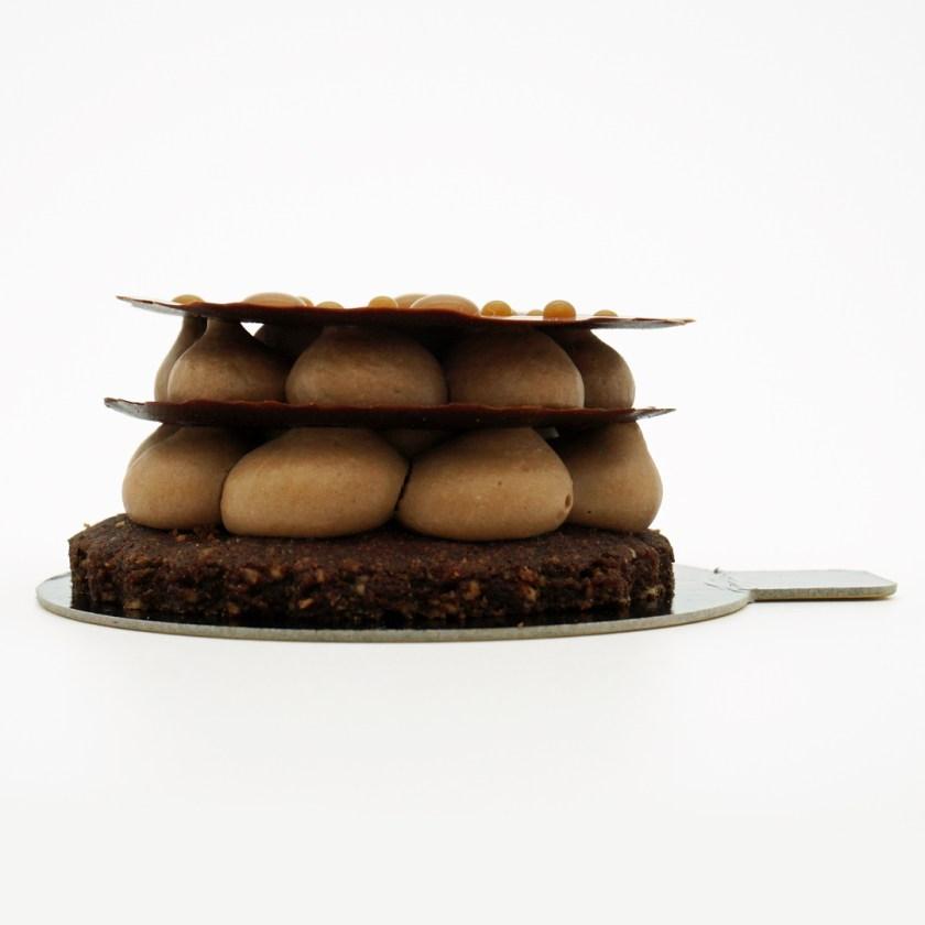 tarte choco-café sitron sans  gluten