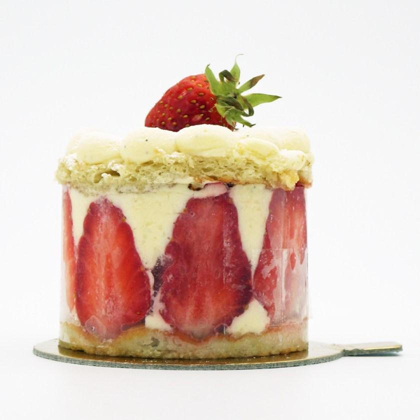 la fraise pâtisserie nanan