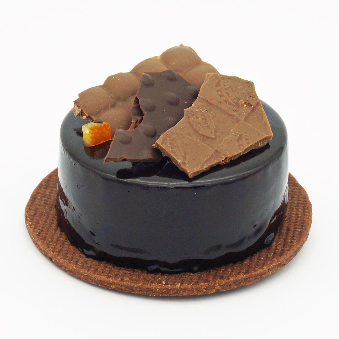 Tarte Orange Chocolat par Muscade