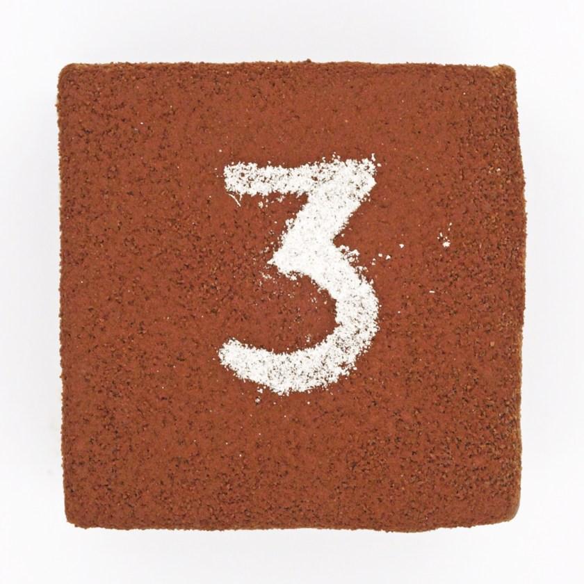 les trois chocolats