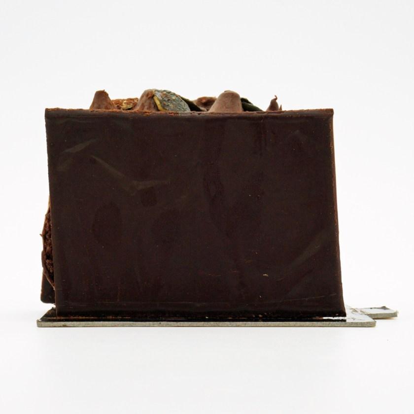 bûche chocolat praliné graines de courges la mutinerie