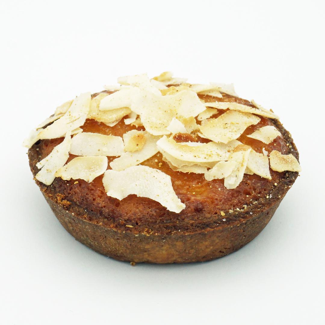 Tarte Coco Bergamotte par Ten Belles Bread