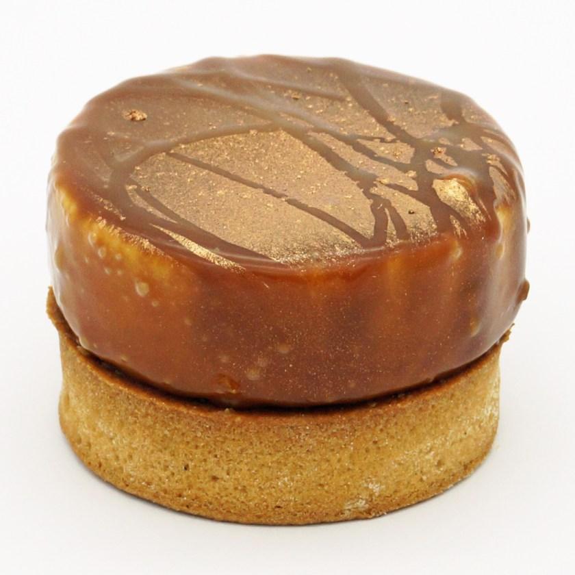 tarte caramel spéculos cacahuètes colorova