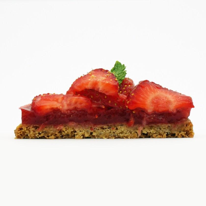 tarte folle fraises onyriza sans gluten