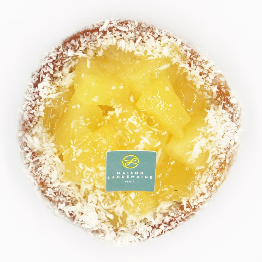tartelette ananas coco maison landemaine