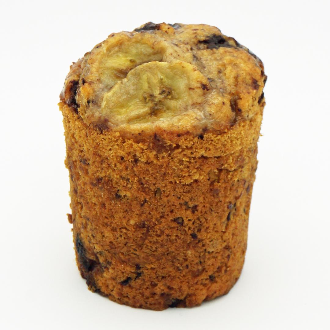 Muffin Banane et Chocolat par Rose Bakery