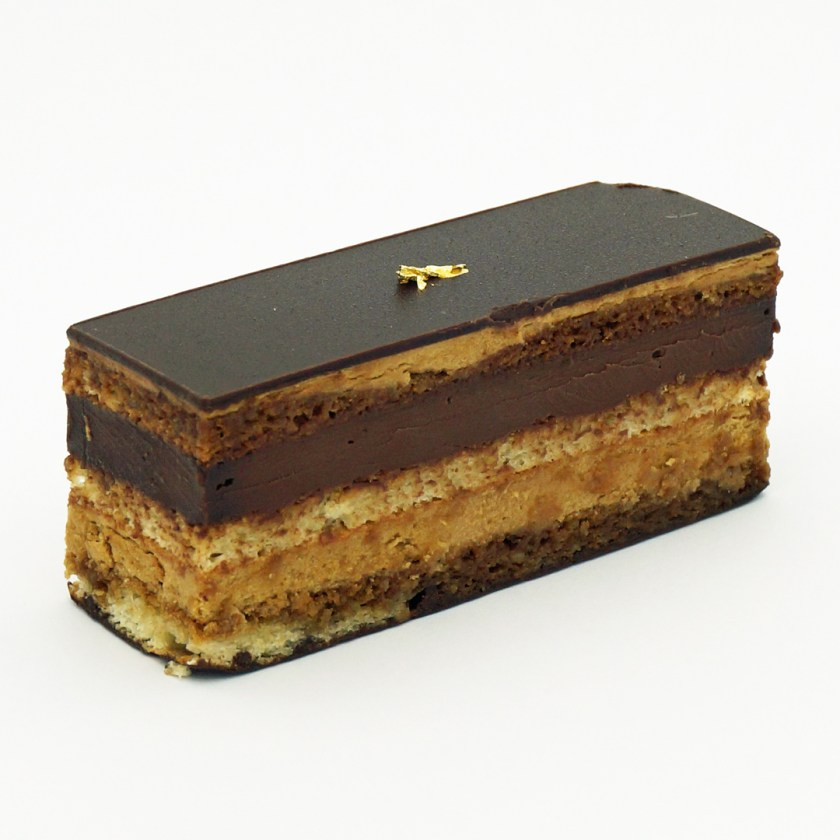 gâteau opéra par thévenin