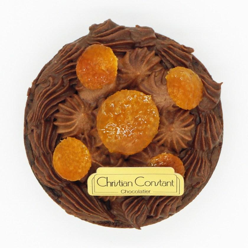 Tarte Mandarine et Chocolat par Christian Constant