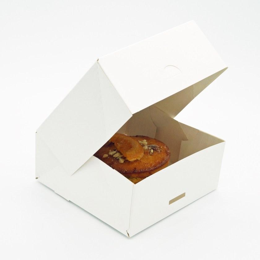 gâteau orange Amande rose bakery