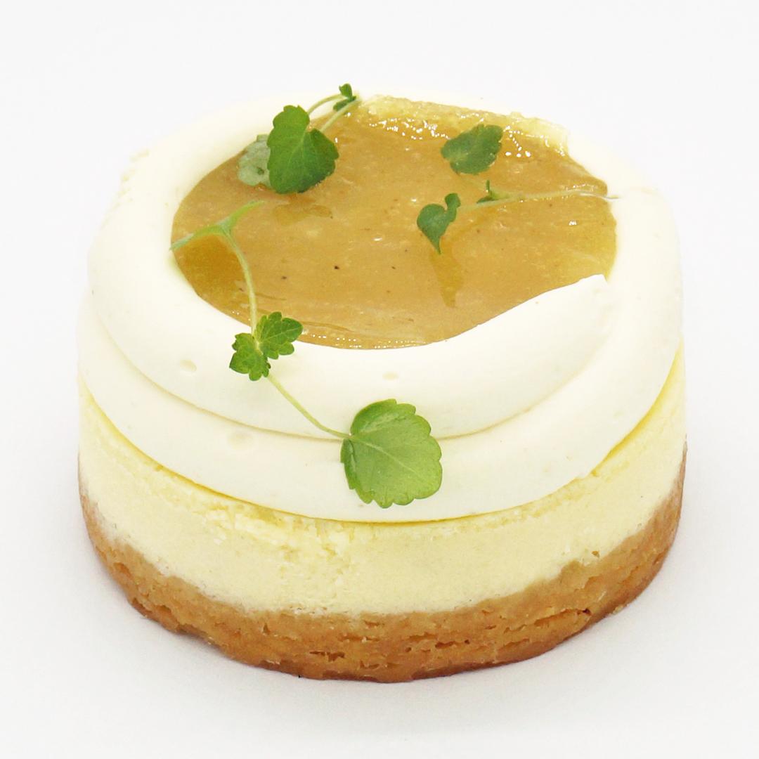 Cheesecake Poire-Sansho par Ophélie Barès pour Le Temps et le Pain