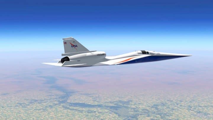 La NASA termine la construction de son avion supersonique qui volera en 2021 ! Découvrez à quoi il ressemblera