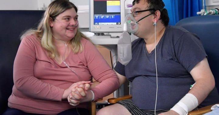 couple covid-19 mariage hôpital