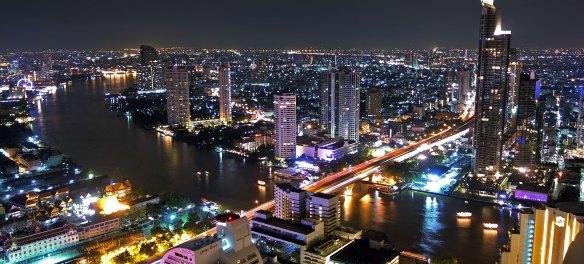 Bangkok bei Nacht - vom Lebua State Tower fotografiert
