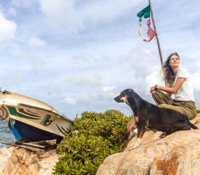 Sri Lanka: Unsere Reiseroute quer durchs Land.