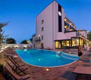Ferretti Beach Hotel a Rimini Italy  Lets Book Hotel
