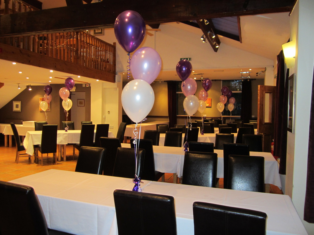 chair cover hire manchester uk rubbermaid high tray birthday balloons by let 39s celebrate weddings in