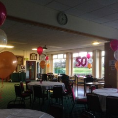 Chair Cover Hire Manchester Uk Argos Covers Black Birthday Balloons By Let 39s Celebrate Weddings In
