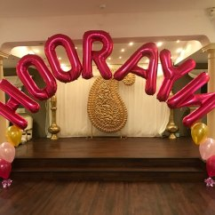 Chair Cover Hire Manchester Uk Hanging Johannesburg Balloon Letters And Numbers At Let S Celebrate Weddings In Name Arch Hyde
