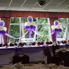 Chair Cover Hire Manchester Uk For Sale Double Bubble Balloons At Let S Celebrate Weddings In