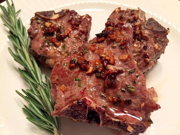 Lamb Loin Chops With Rosemary And Garlic Let S Cook Some Food