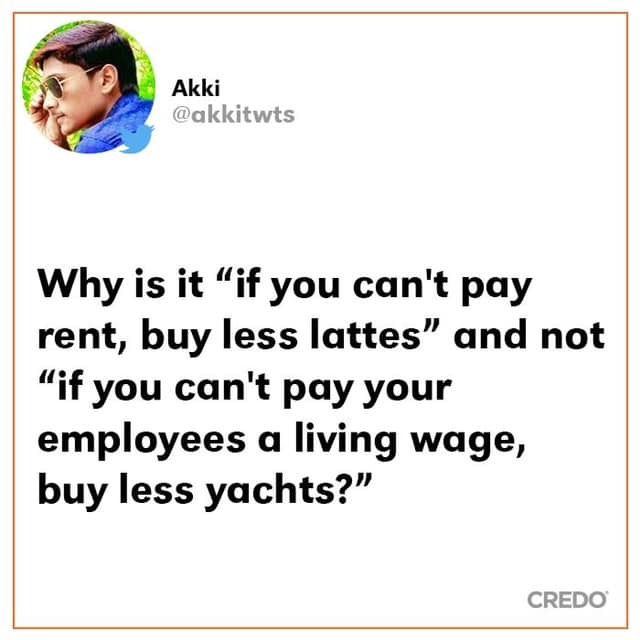 Let's Digress About Living Wage and Responsibilities