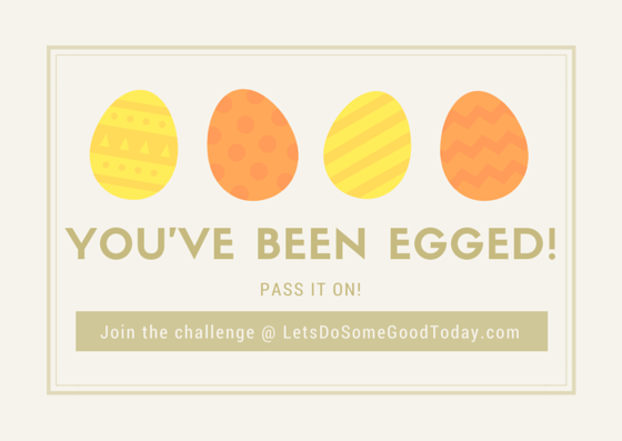picture relating to You've Been Egged Printable called Youve Been Egged! An Easter Company Situation Makes it possible for Do