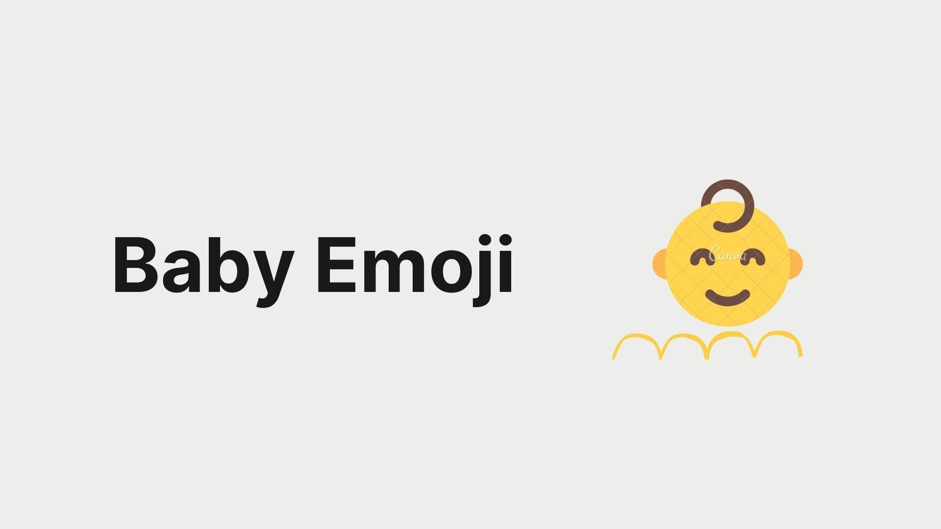 Baby Emoji