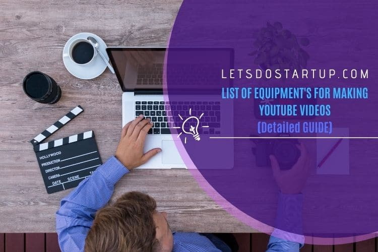 List of Equipment You Will Need