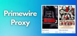 Primewire Proxy list