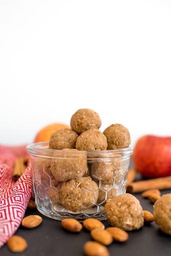 Apple Cinnamon Energy Balls Recipe