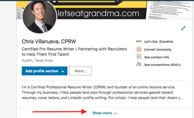 How to Write a LinkedIn Summary