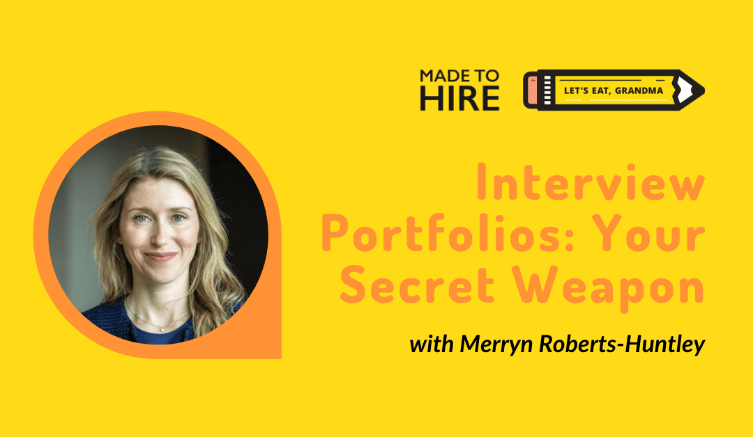 Why an Interview Portfolio Will Land You the Job (Featuring a Sample)