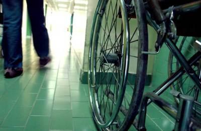 arbeidsongeluk in rolstoel