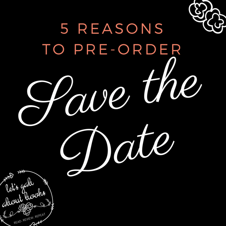 Five Reasons to Pre-order SAVE THE DATE
