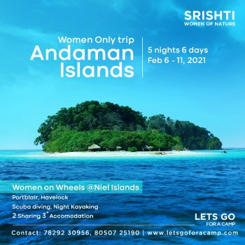 Women only trip in andaman islands