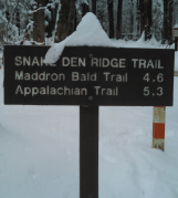 Snake Den Ridge Trailhead