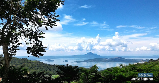 Overlooking Taal Volcano & Taal Lake in Batangas