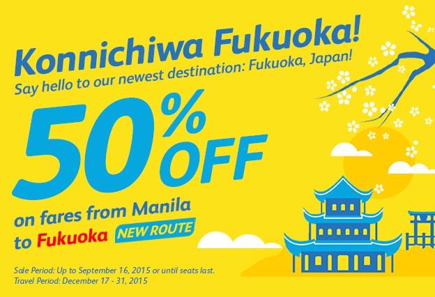 CEB Manila-Fukuoka
