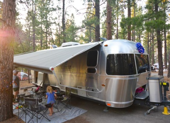 Airstream Rental Bay Area Lake Tahoe Destination with family