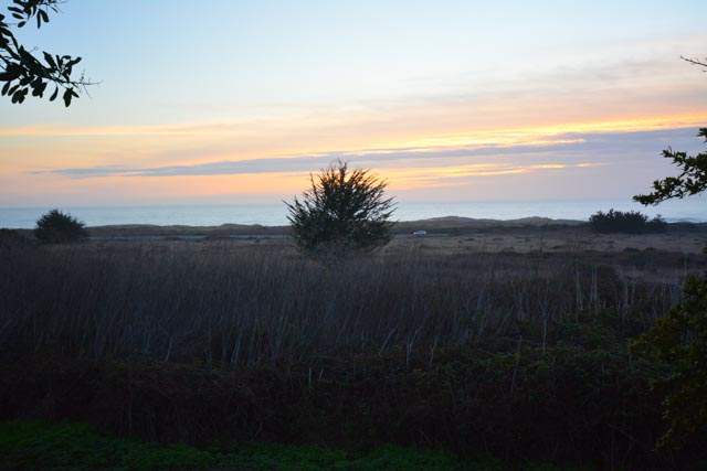 Sunset at Costanoa