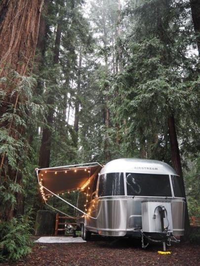 Airstream rental in Santa Cruz California