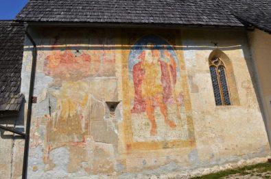 Church fresco