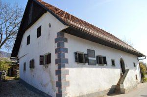 Prešeren's house in Vrba